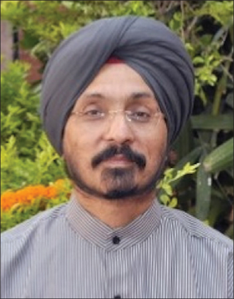 Figure 5: Dr. Daljit Singh, Head of the Department of Neurosurgery since 2015 and the Medical Superintendent of Neurosciences.