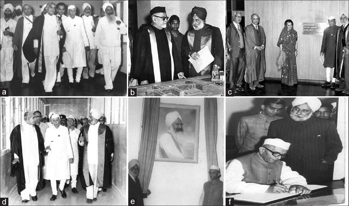 e990242e557 Clockwise from left: (a) The first Prime Minister of India, Pandit Jawahar  Lal Nehru inaugurating the Nehru Hospital on 7-7-1963; (b) President Dr.  Zakir ...
