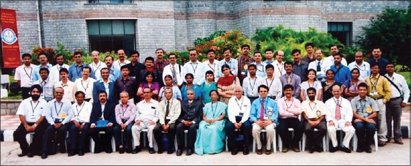 Figure 28: Conferences organized by the Neurology Department: In 2006, NIMHANS alumni during the 14<sup>th</sup> Annual Conference of Indian Academy of Neurology