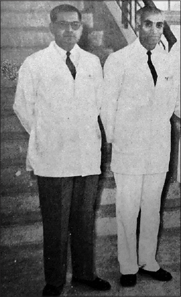 Figure 5: Dr. Ramesh Nigam (left) and Dr. JN Berry (right)