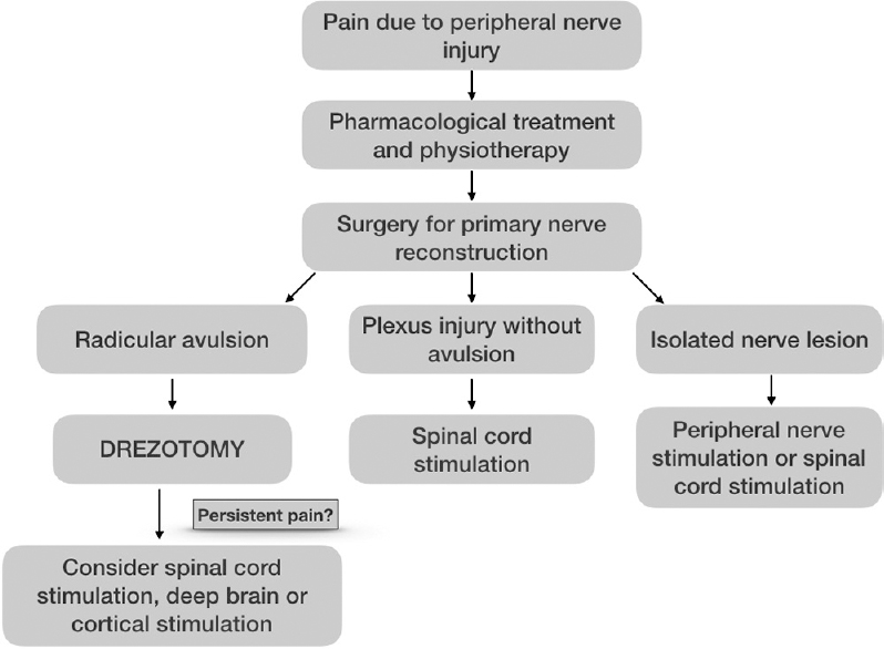 Figure 2: Nerve injury-related pain: basic therapeutic algorithm